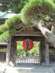 The entrance to the Hasedera Temple